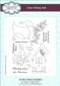 Creative Expressions - Christmas Robins A5 Clear Stamp Set - CEC786